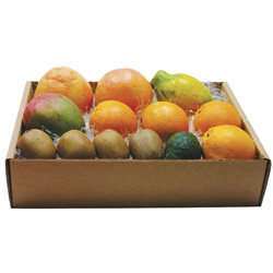 Tropical Fruits in a Gift Box