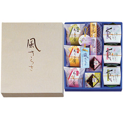 "Summer Special Wagashi Assortment ""Kaze Sarasa"""
