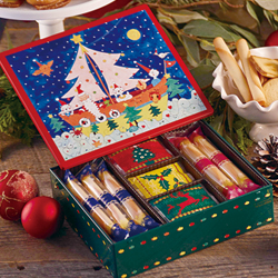 Petit Cinq Delices Holiday Tin